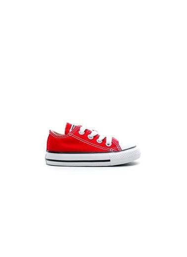 Converse Unisex Çocuk Chuck Taylor All Spor Ayakkabı 7J236C Kırmızı